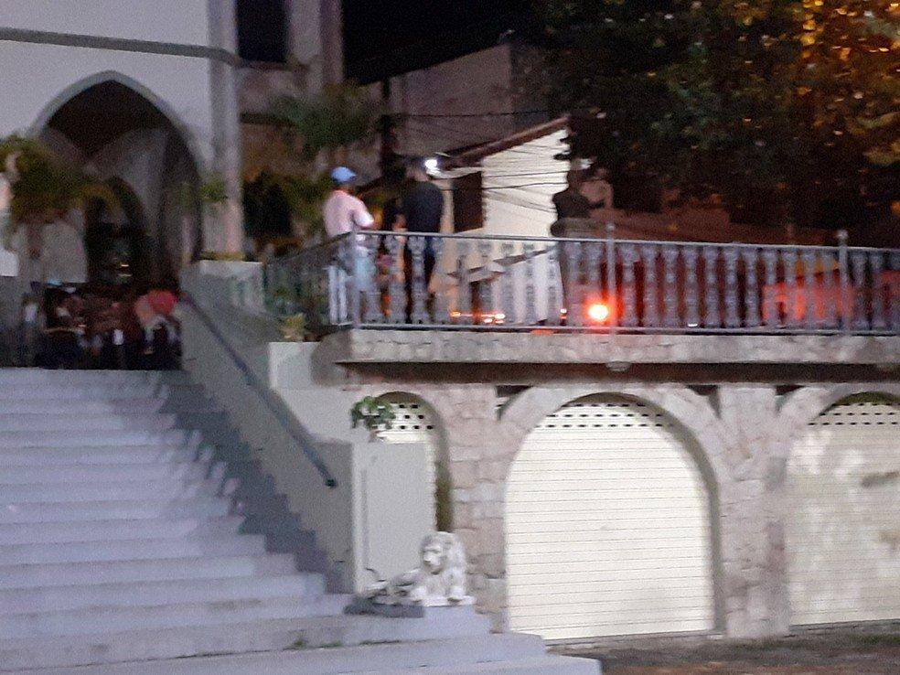 O crime aconteceu próximo a Igreja Matriz Nossa Senhora da Conceição, que fica no centro de Bom Jardim