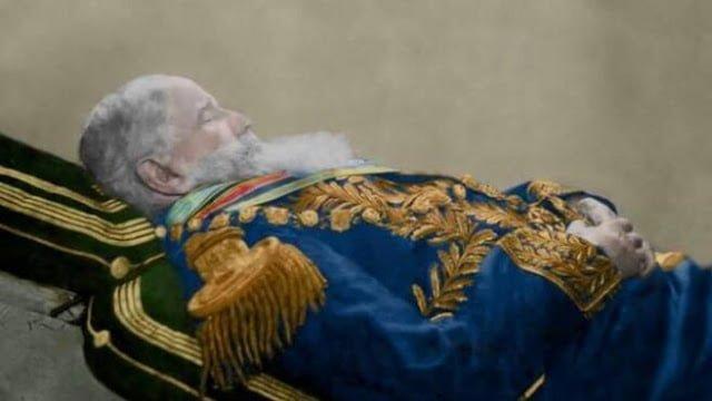 Dom Pedro II está enterrado com terras da Fazenda do Gavião de Cantagalo