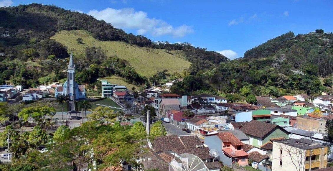 Vista panorâmica do município de Santa Maria Madalena RJ