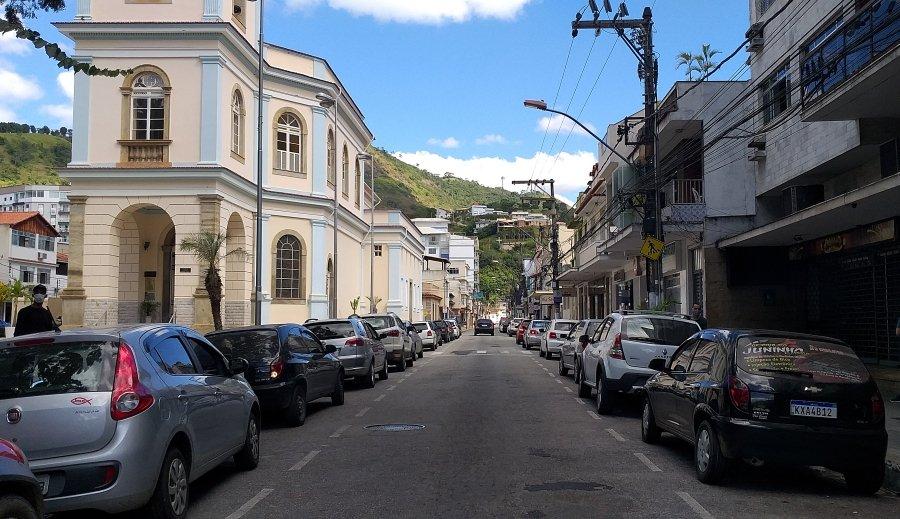 Centro de Cantagalo RJ