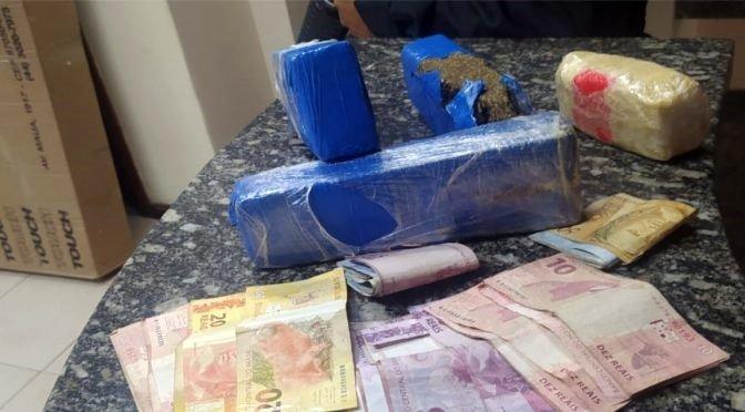 Casal é detido ao tentar transportar drogas de Aperibé para Pádua
