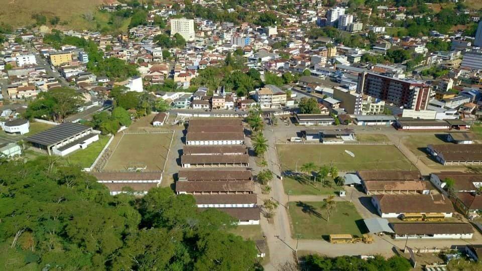Vista aérea do município de Cordeiro, na Região Serrana do Rio de Janeiro