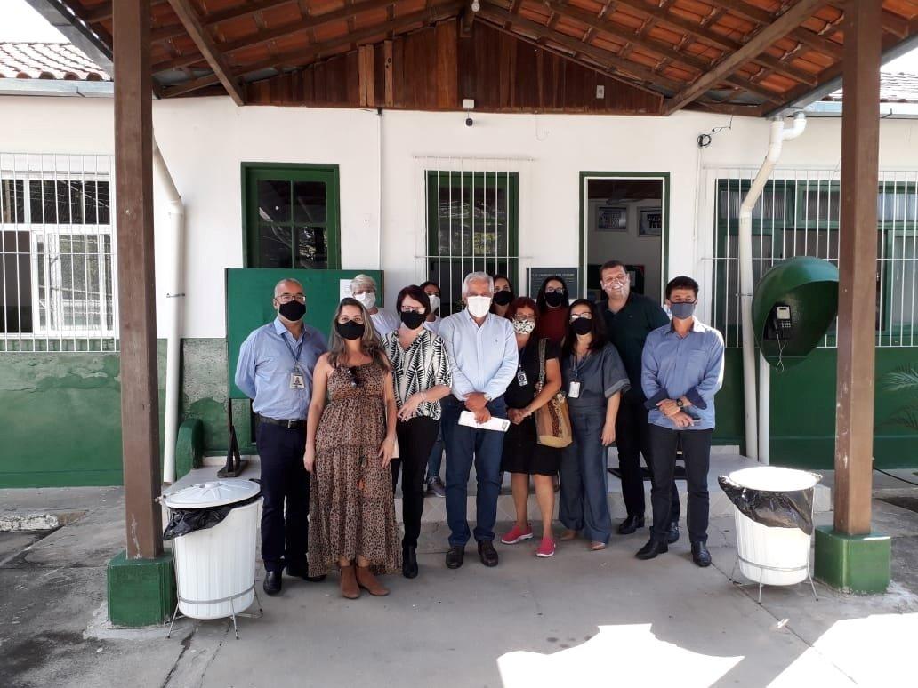 Secretário de Estado de Educação visita Colégio Estadual Doutor Francisco Leite Teixeira em Santa Rita da Floresta - Carntagalo RJ
