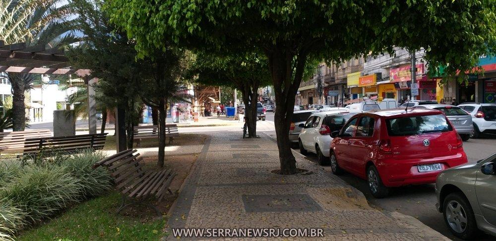 Praça do Centro de Cordeiro RJ