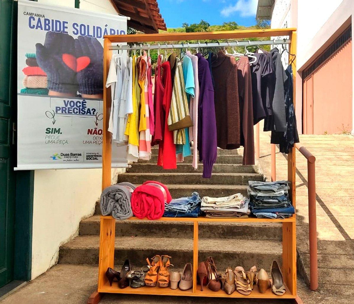 Assistência Social divulga Campanha do Agasalho em Duas Barras