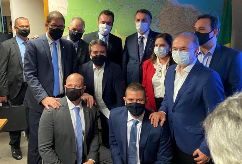 Cláudio Castro se filia ao PL com presença de Jair Messias Bolsonaro