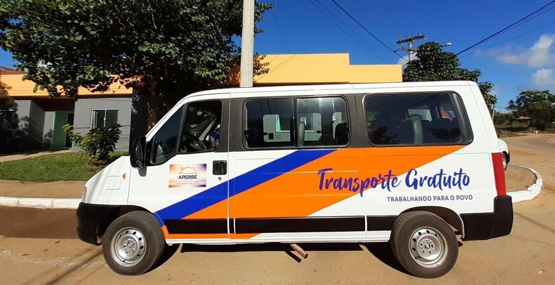 Aperibé disponibiliza transporte público gratuito à população