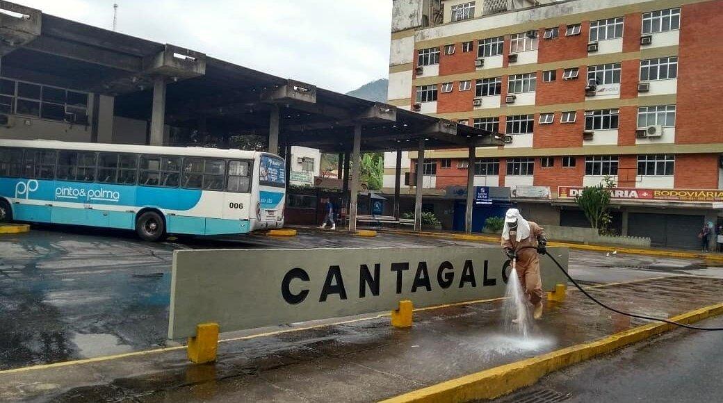 Combate ao novo coronavírus em Cantagalo RJ