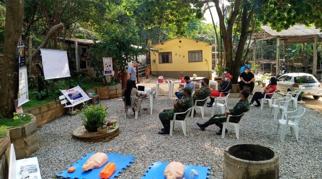 Guarda Ambiental de Carmo recebe capacitação para apoiar ocorrências
