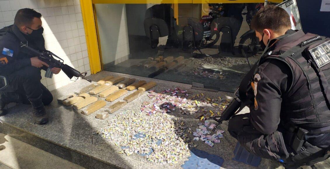 Padre e mais dois são presos com grande quantidade de drogas em Nova Friburgo
