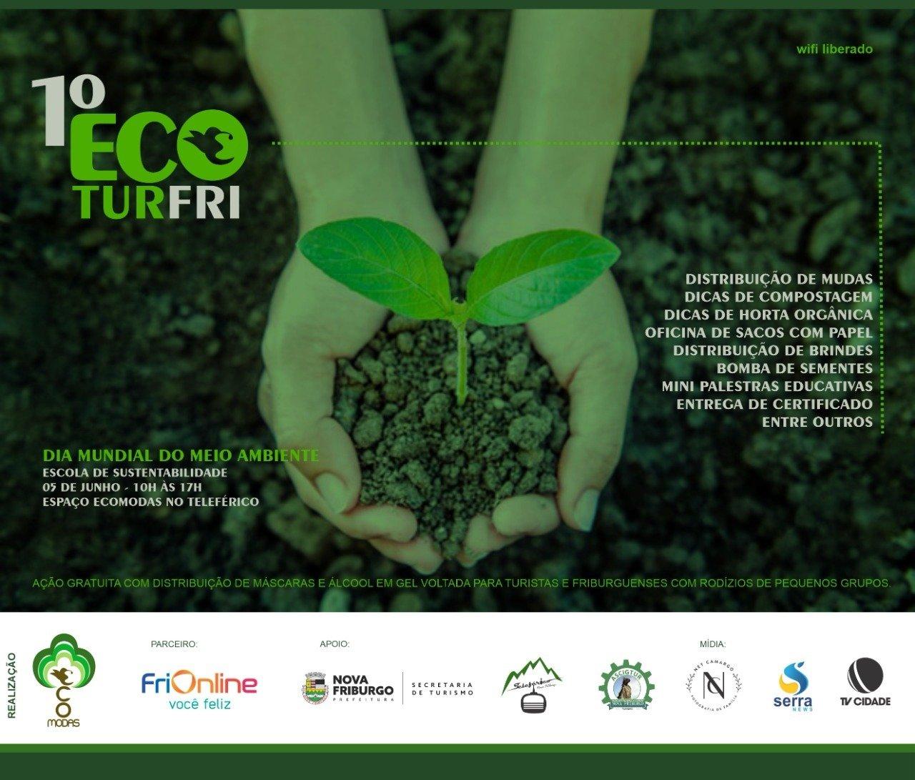 EcoModas organiza ação para o Dia Mundial do Meio Ambiente em Nova Friburgo