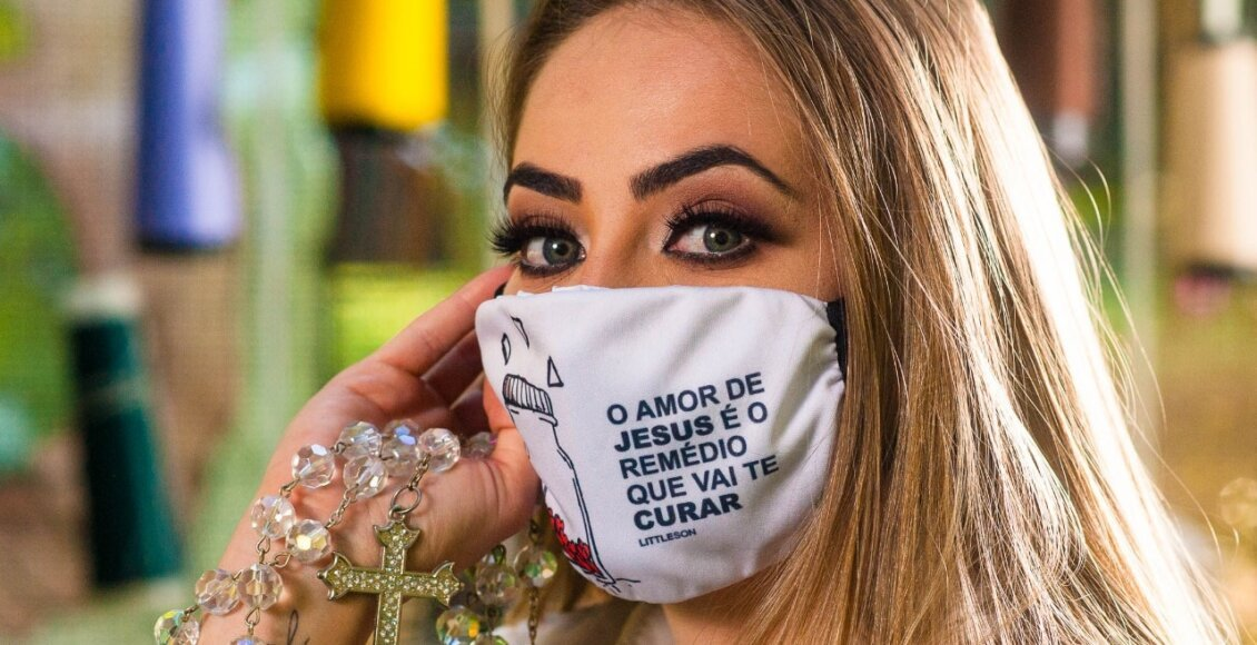 Região Serrana: Máscaras corporativas com princípios sustentáveis