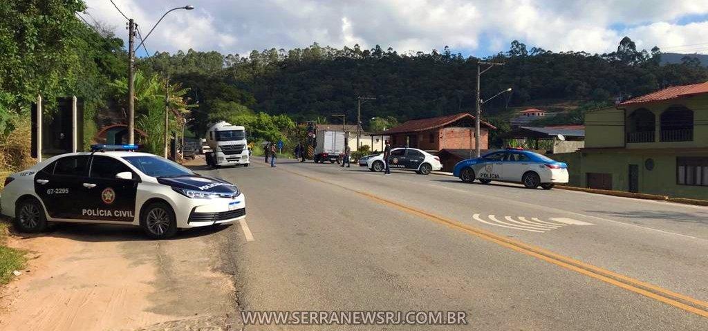 Operação: Forças policiais de Duas Barras no combate à criminalidade