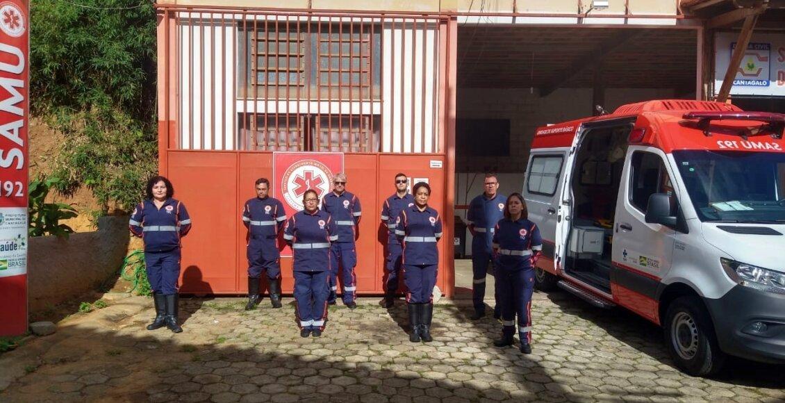 SAMU de Cantagalo completa 7 anos de serviços prestados à população