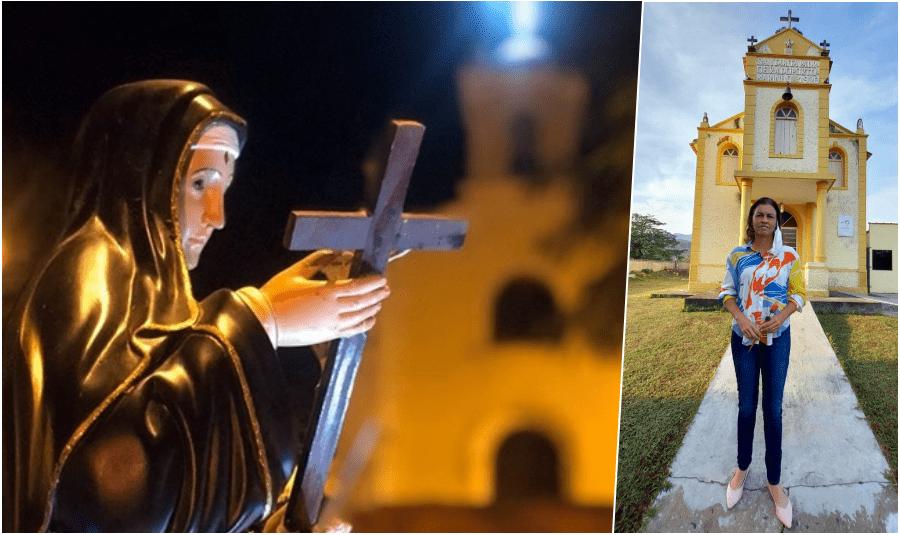 Localidades de Cantagalo prestam homenagem à padroeira Santa Rita de Cássia