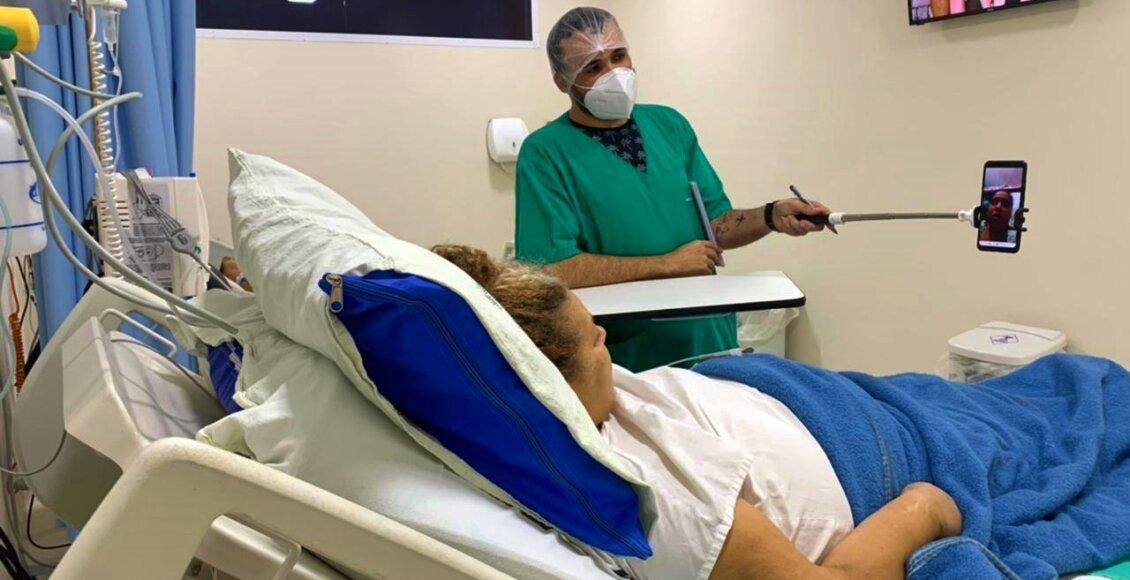 Pacientes com Covid-19 recebem tratamento privilegiado no CTI de Cantagalo