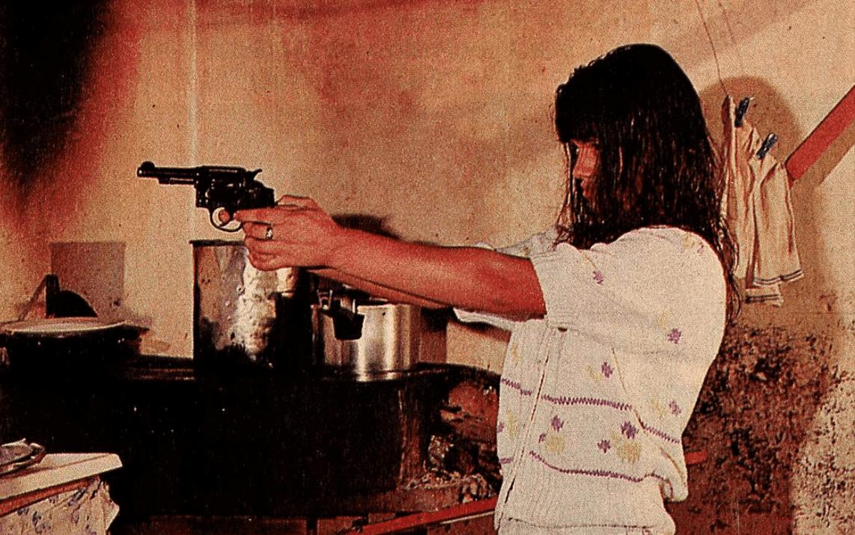 Márcia Cristina atirou em Ibraim para se defender. Acervo Revista Manchete, BN.