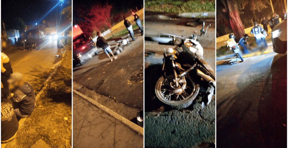 Acidente entre caminhão e motocicleta deixa um morto no Triângulo, em Cantagalo