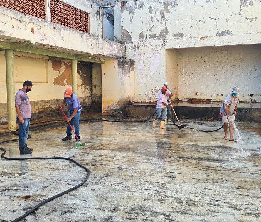 Prefeitura vai revitalizar Clube Social do Aperibeense