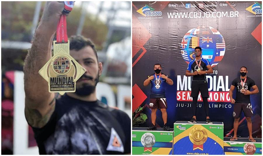 É ouro: Atletas de Cambuci e São Fidélis conquistam Mundial de Jiu-Jitsu Olímpico