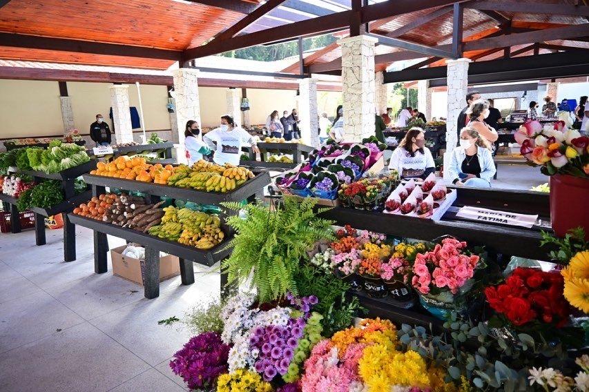 Inauguração do espaço do Agricultor em Miguel Pereira RJ