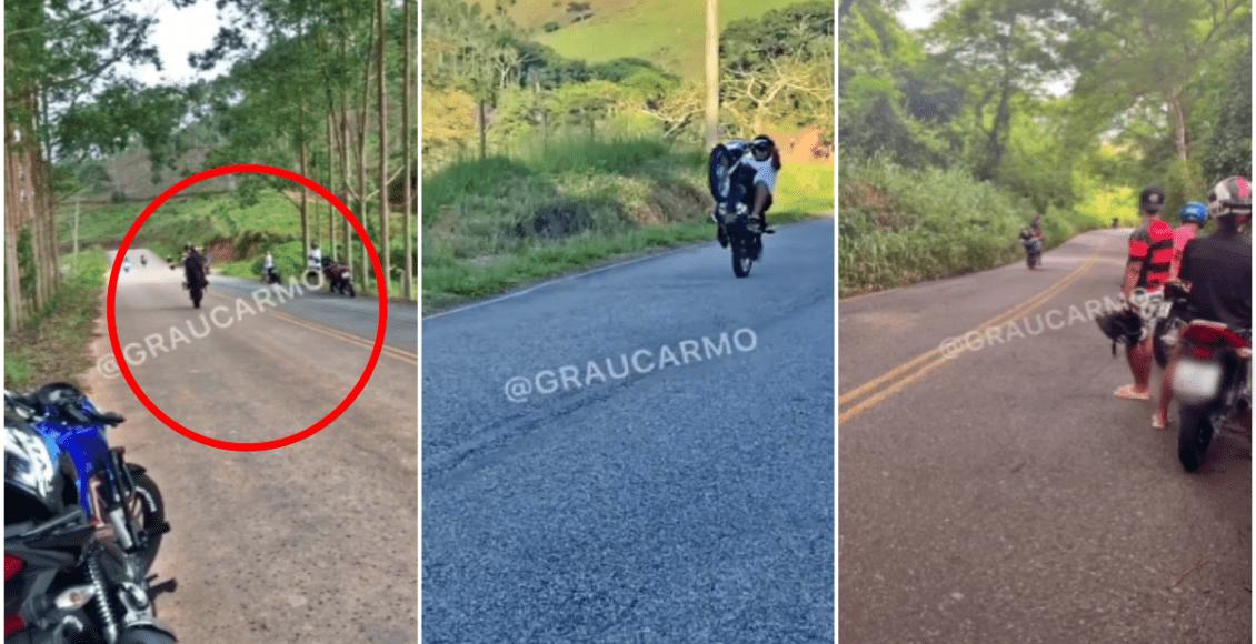 Polícia prende grupo que fazia manobras arriscadas entre Duas Barras e Carmo