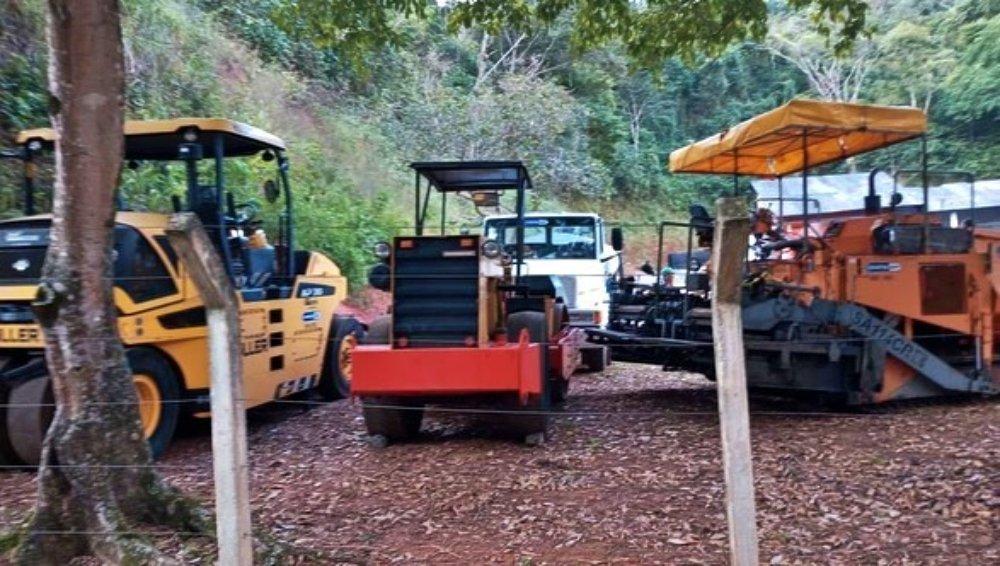 Estado inicia obras de recapeamento da RJ-144 que liga Carmo-Influência (Além Paraíba)