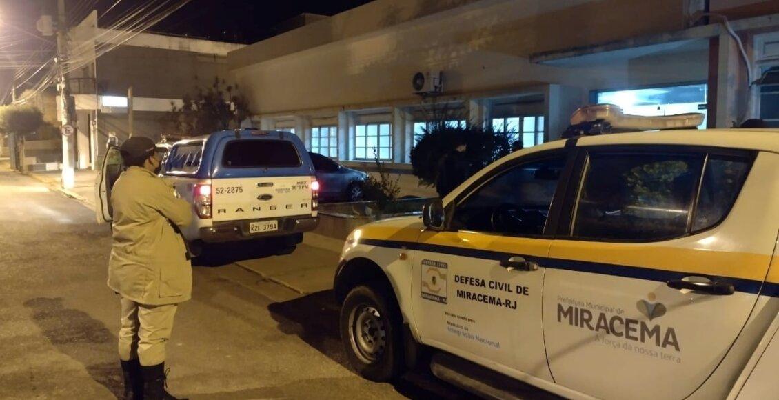 Equipe de fiscalização encerra festa clandestina em Miracema