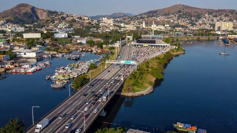 Pedágio da Ponte Rio-Niterói fica mais caro a partir desta quinta