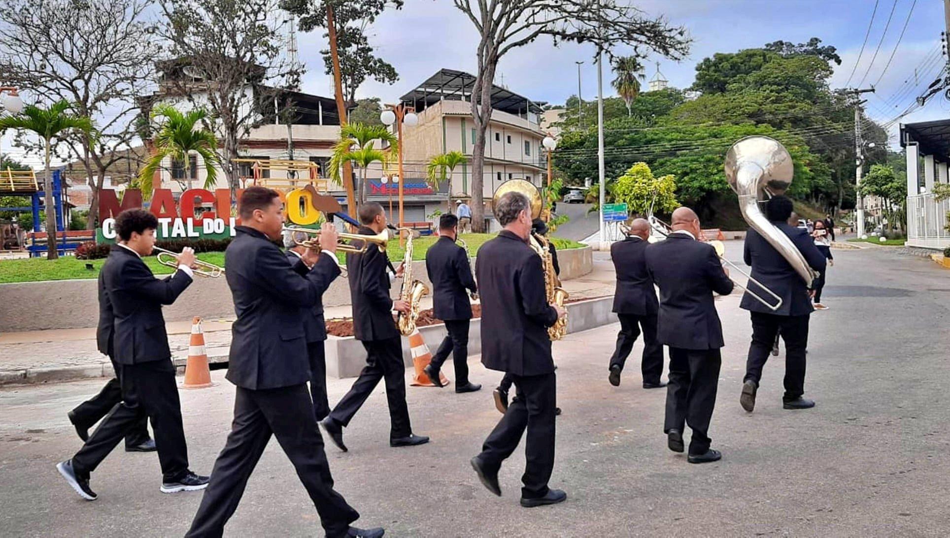 Alvorada - Tradicional festa de São João Batista em Macuco