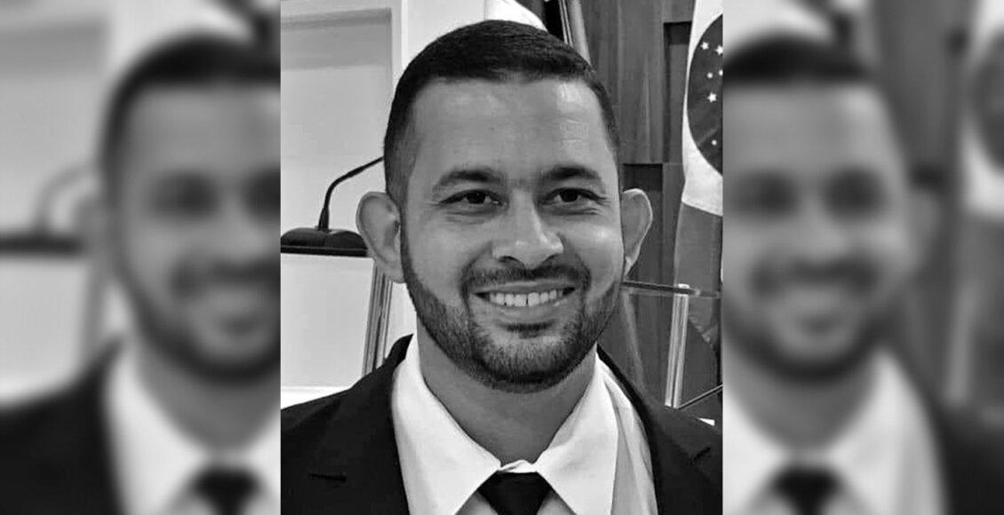 Falecimento do vereador Diego Cidade vítima de Covid-19 em Itaocara