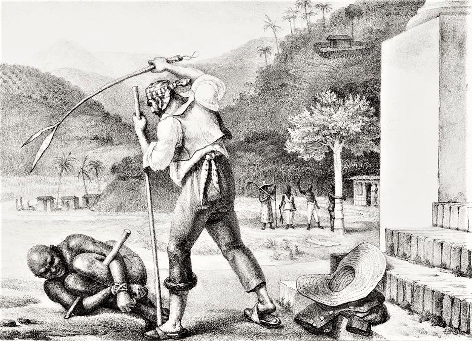 Jean-Baptiste Debret, 1835. Acervo Biblioteca Nacional