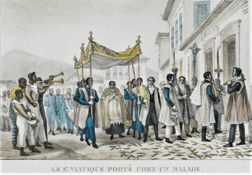 Jean Baptiste Debret 1835. Acervo BN