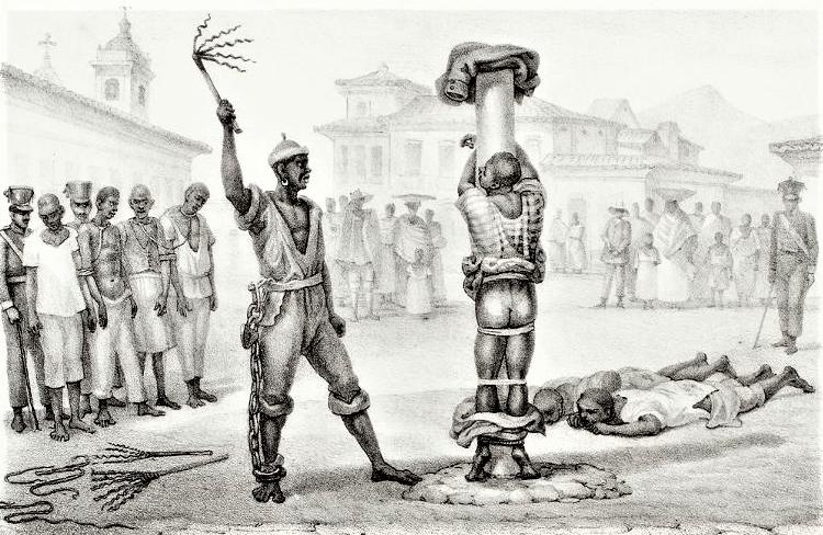 Jean-Baptiste Debret, 1835. Acervo Pinacoteca do Estado de São Paulo
