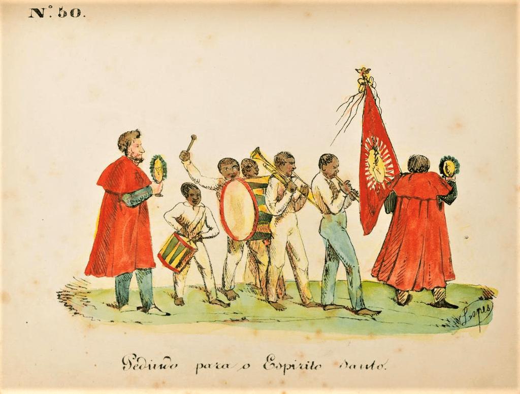 Joaquim Lopes de Barros Cabral Teive Rio de Janeiro 1841. Acervo IMS.