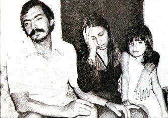 Antônio Carlos e Sandra, pais de Juninho. Acervo O Globo