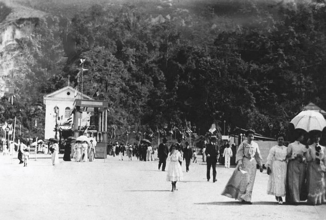 Nova Friburgo cerca de 1905. Acervo Castro.