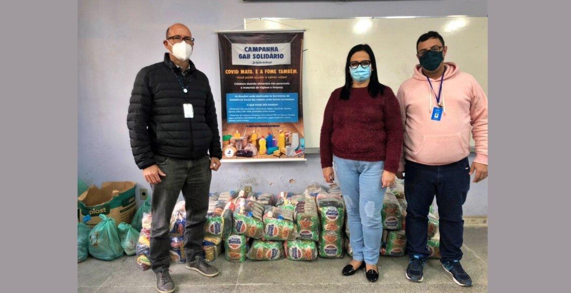 Águas de Nova Friburgo arrecada meia tonelada de alimentos para famílias