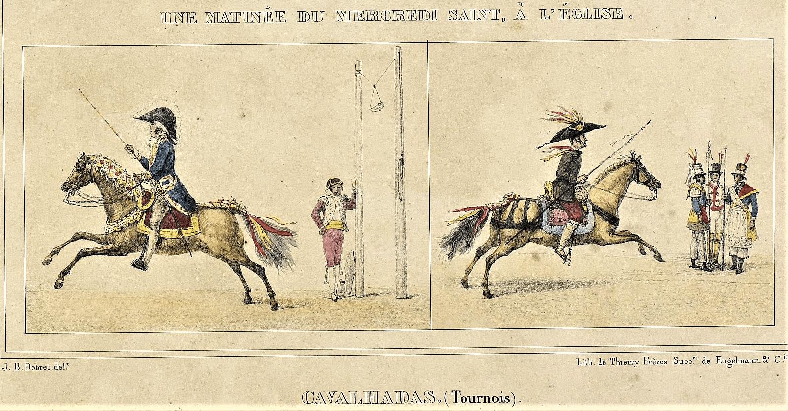 Thierry Freres 1839 Rio de Janeiro. Acervo BN.