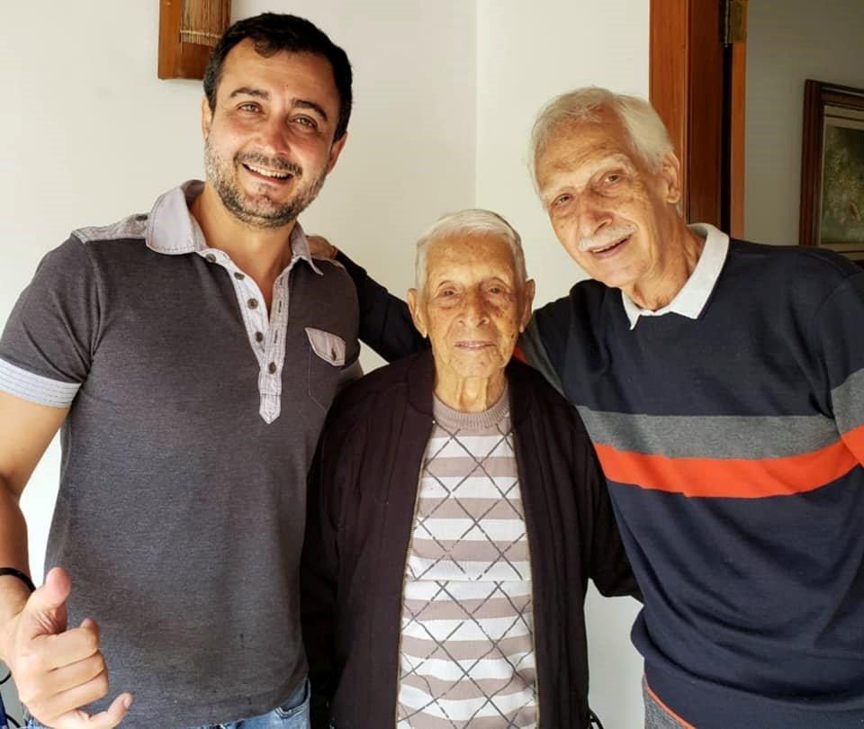 Trajano, Madalena, Alto e Friburgo se despedem de Abdo Carim aos 104 anos