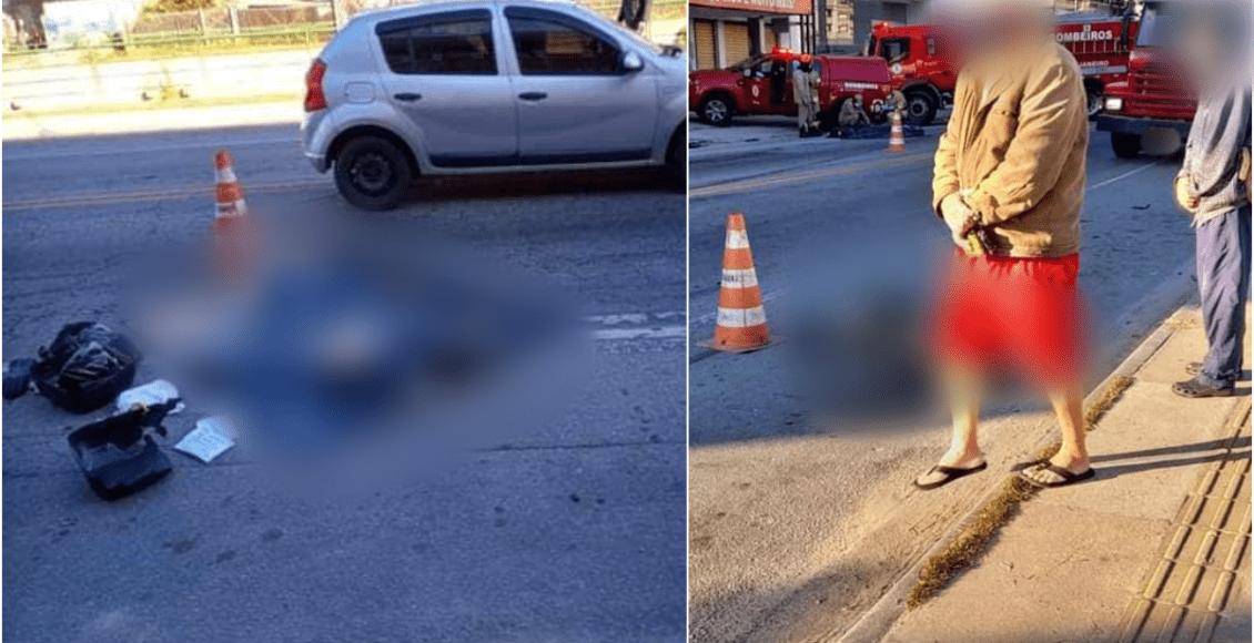 Friburgo: Ciclista morre após colidir com carro e ser arrastado por caminhão
