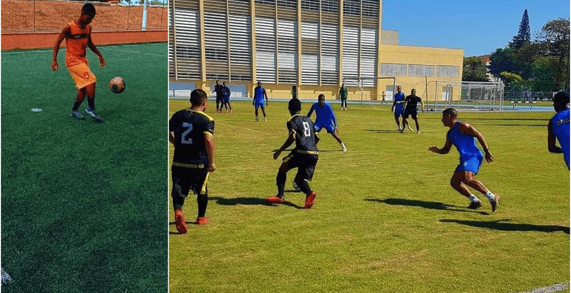 Jovem jogador de futebol de Cantagalo recebe oportunidade para jogar no Ceará
