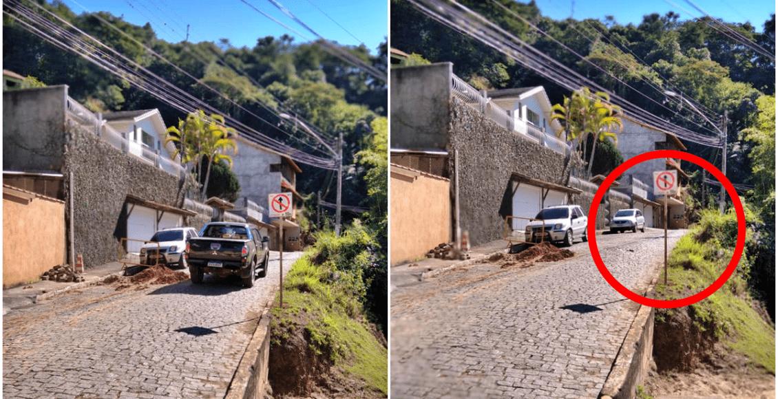 Prefeitura transforma rua em mão única e diverge opiniões em Cordeiro