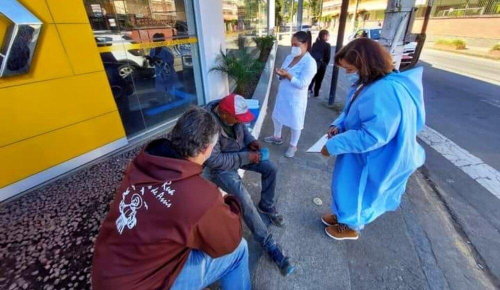 Teresópolis vacina pessoas em situação de rua contra a Covid-19