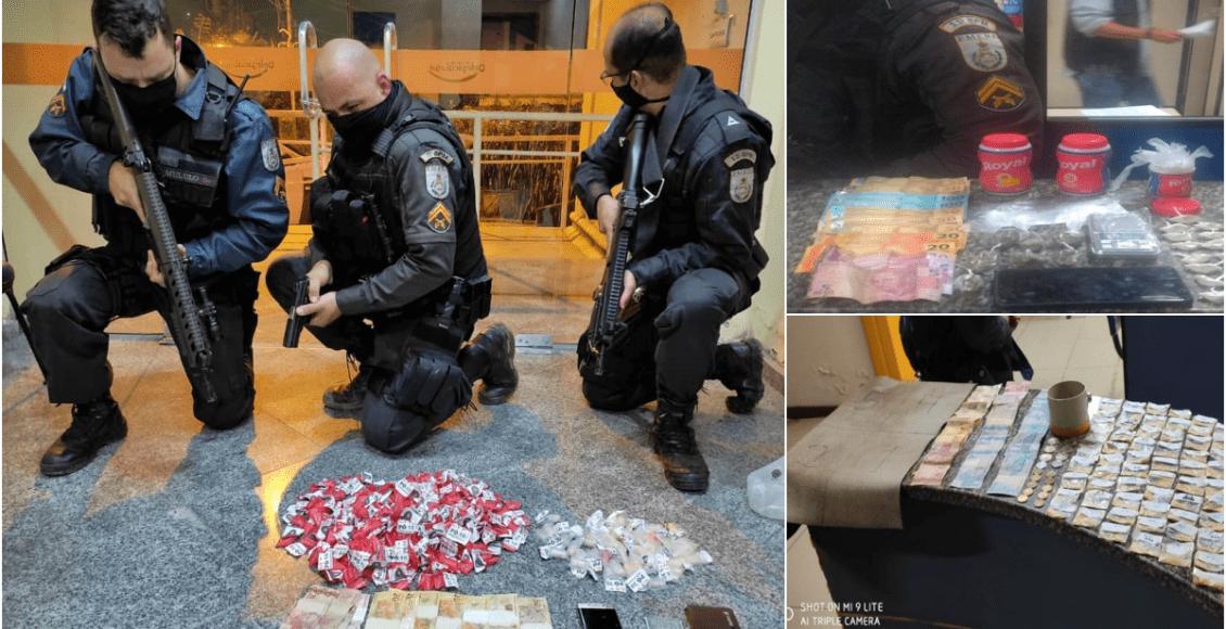 Três pessoas presas por tráfico de drogas em Trajano, Bom Jardim e Cordeiro