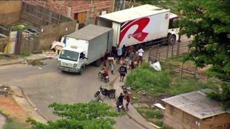 Estado do Rio ainda tem média de doze roubos de carga por dia