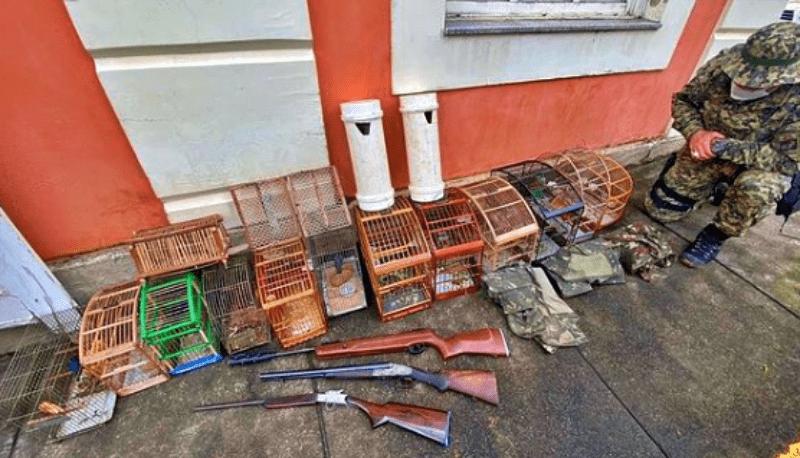 Polícia prende homem por crime ambiental em Santa Maria Madalena