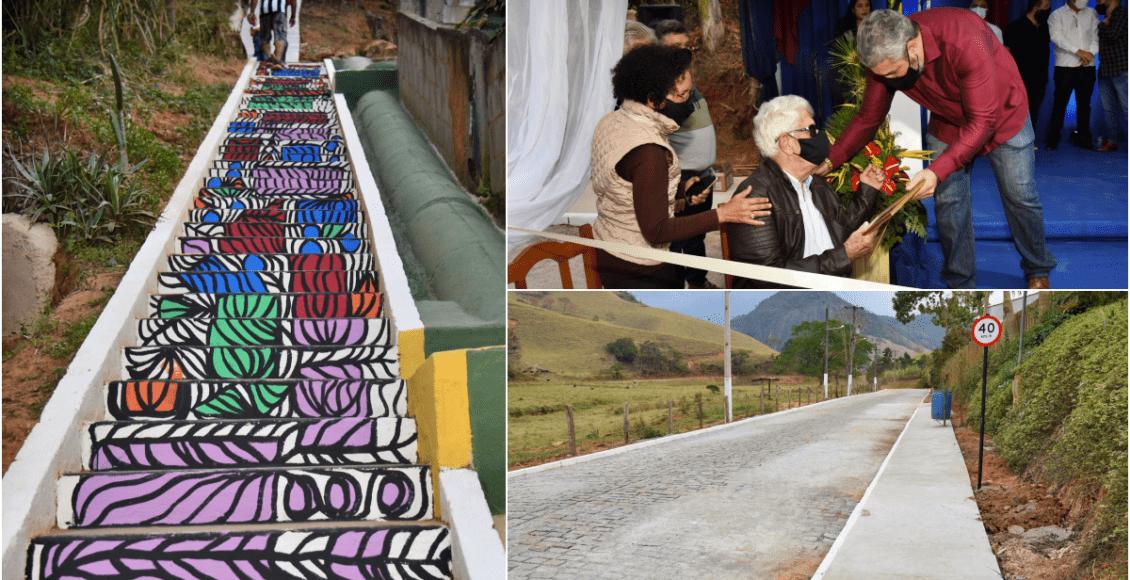Prefeitura entrega pavimentação e revitalização de ruas em Duas Barras