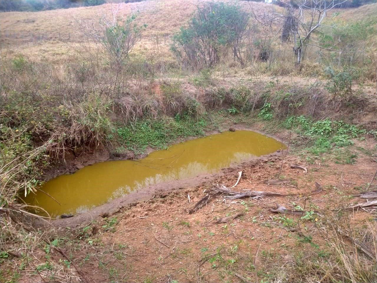 Seca em São Sebastião do Paraíba, em Cantagalo - RJ
