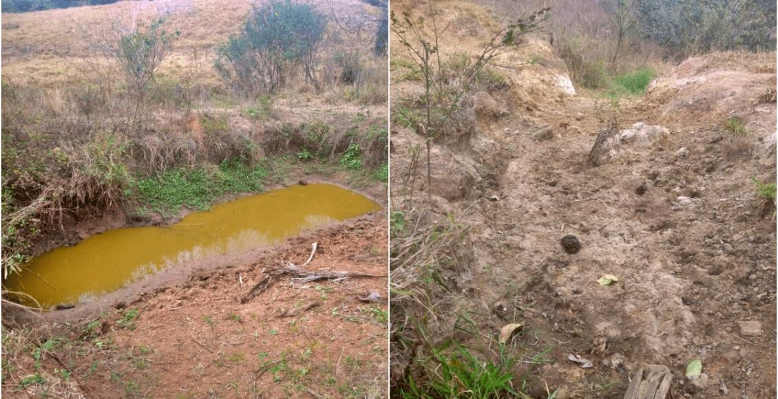 Seca no Rio Paraíba do Sul atinge produtores da zona rural de Cantagalo